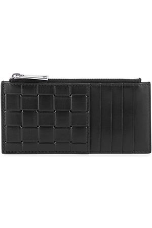 Bottega Veneta Grid Leather Card Case