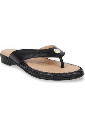 Scholl Women Black Solid Comfort Heels