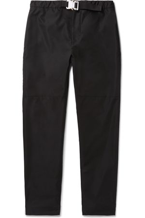 Moncler Genius Men Slim Trousers - 6 Moncler 1017 ALYX 9SM Slim-Fit Belted Woven Trousers
