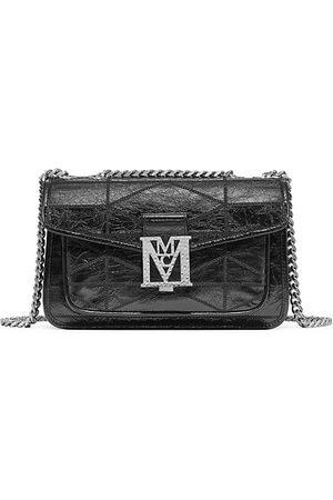 MCM Mena Small Quilted Shoulder Bag