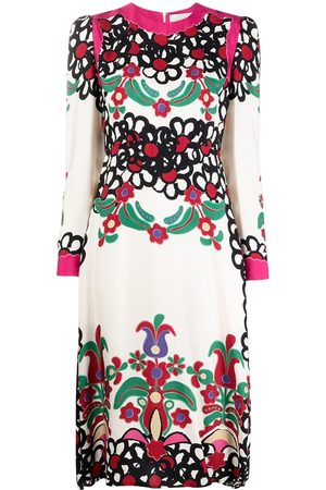 La DoubleJ Bee printed midi dress