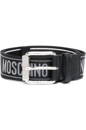 Moschino Men Belts - Logo-print belt