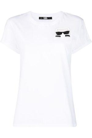 Karl Lagerfeld Logo patch T-shirt