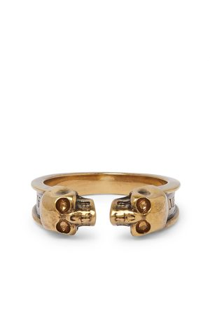Alexander McQueen Men Rings - Skull -Tone Ring
