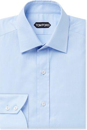 Tom Ford Men Business - Slim-Fit Cotton Shirt