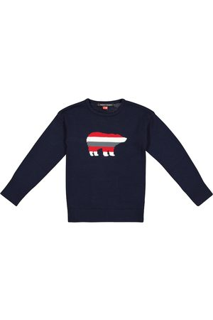 Perfect Moment Bear intarsia merino wool sweater