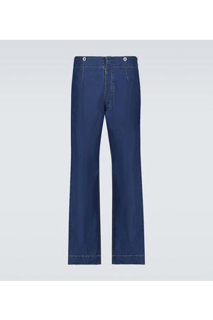 Maison Margiela Cropped wide-leg jeans