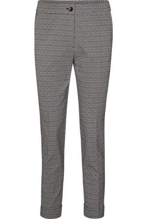 Etro High-rise printed slim pants