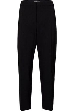 Chloé Cropped stretch-wool slim pants