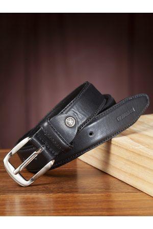 Highlander Men Black Solid Belt