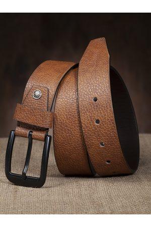 HIGHLANDER Men Brown Solid Belt