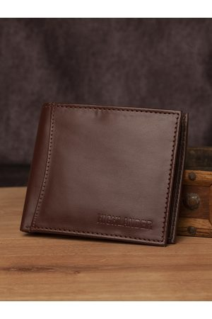 Highlander Men Brown Solid Two Fold Wallet