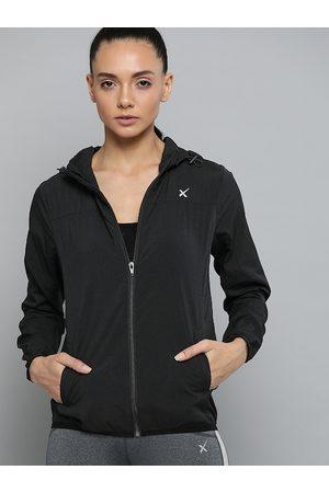 HRX by Hrithik Roshan Women Black Solid Sporty Jacket