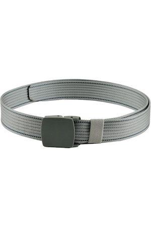 Kastner Men Silver-Coloured Striped Belt