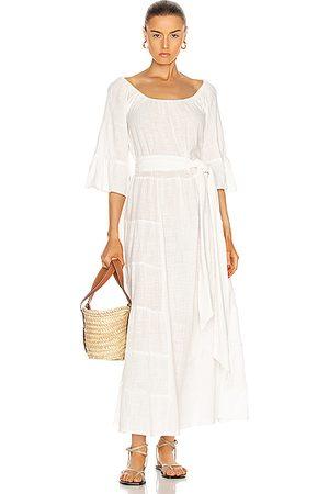Natalie Martin Mesa Maxi Dress in Cotton Gauze