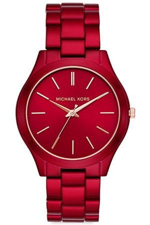 Michael Kors Bracelets - Petite Runway Stainless Steel Bracelet Watch