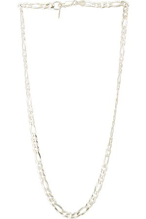 LOREN STEWART XL Figaro Chain Necklace in Sterling