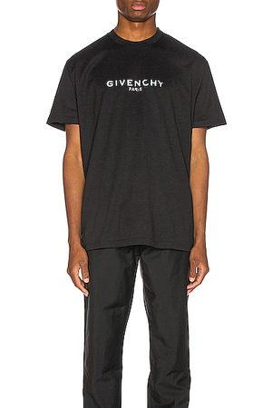 Givenchy Distressed Logo Tee in