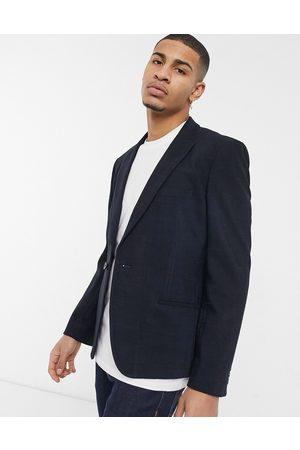 ASOS Men Blazers - Skinny suit jacket in twill windowpane check in