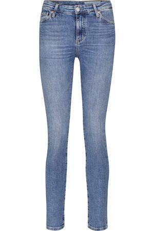 AG Jeans Mari high-rise slim jeans