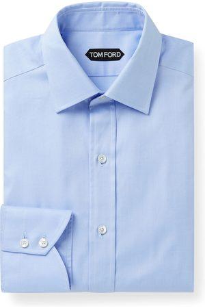 Tom Ford Slim-Fit Cotton-Twill Shirt