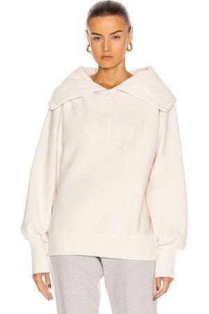 Varley Vine Half Zip Sweatshirt in Eggnog