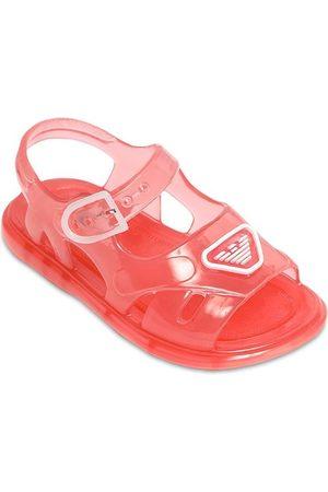 Emporio Armani Logo Jelly Sandals