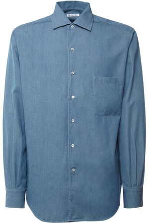 Loro Piana André Cotton Denim Shirt