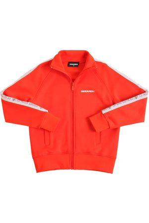 Dsquared2 Cotton Blend Zip-up Sweatshirt