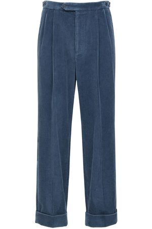 Gucci Avio Corduroy Pants W/leather Patch