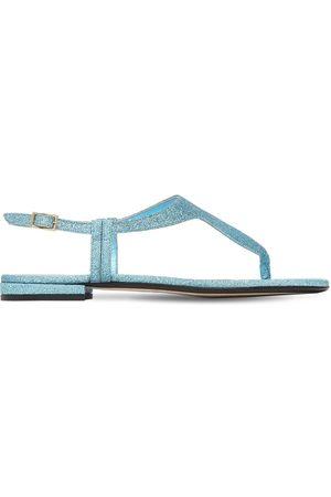 Alevì 10mm Linda Glittered Thong Sandals