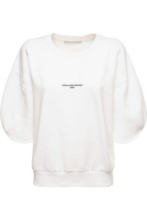 Stella McCartney Logo Organic Cotton Jersey Sweatshirt
