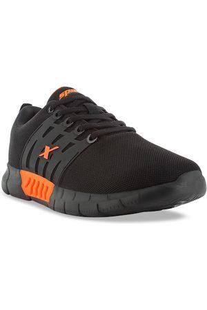 Sparx Men Black & Orange Sustainable Running Shoes