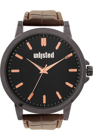 UNLISTED A KENNETH COLE PRODUCTION Men Black Analogue Watch 10032044