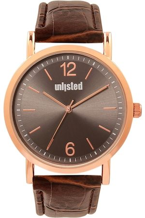 UNLISTED A KENNETH COLE PRODUCTION Men Brown Analogue Watch UL50312001