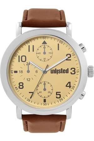 UNLISTED A KENNETH COLE PRODUCTION Men Beige Analogue Watch 10032022