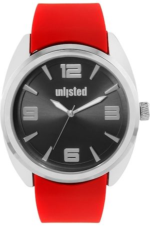 UNLISTED A KENNETH COLE PRODUCTION Men Black & Red Analogue Watch 10032067