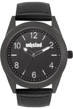 UNLISTED A KENNETH COLE PRODUCTION Men Black Analogue Watch 10032062