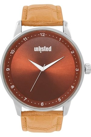 UNLISTED A KENNETH COLE PRODUCTION Men Brown Analogue Watch UL51163003