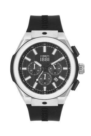 Cerruti 1881 Men Black Analogue Chronograph Watch CRA163STB02BK