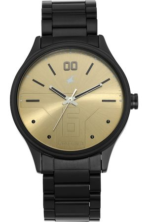 Fastrack Men Gold-Toned Analogue Watch 3247NM01