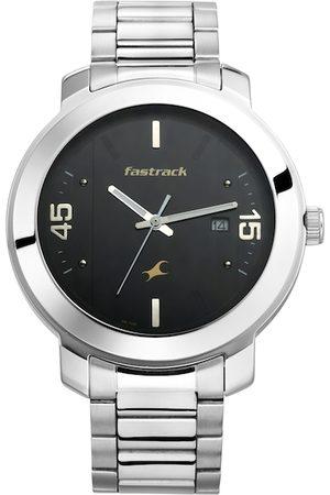 Fastrack Men Black Analogue Watch 3246SM02