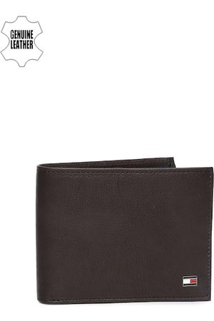 adidas Men Brown Genuine Leather Two Fold Wallet