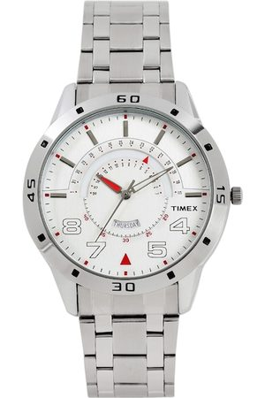 Timex Men Silver-Toned Analogue Watch TW000U904
