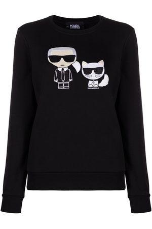 Karl Lagerfeld Women Sweatshirts - Graphic-print sweatshirt