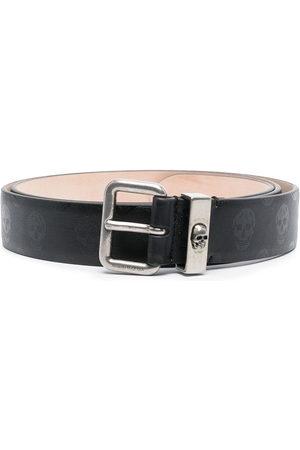 Alexander McQueen Skull-print belt