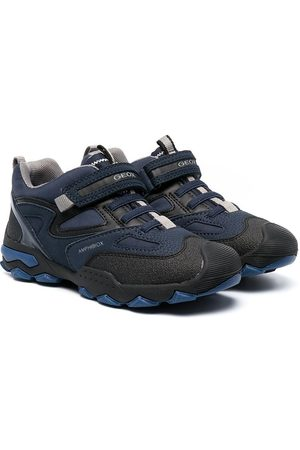 Geox Multi-panel design sneakers