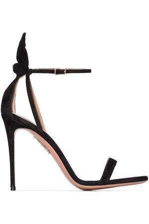 Aquazzura Bow Tie 105mm bow sandals