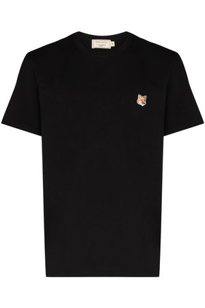 Maison Kitsuné Embroidered fox head T-shirt