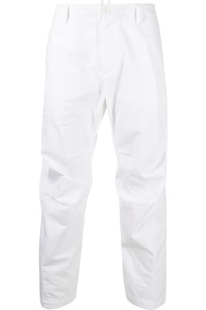 Dsquared2 Men Chinos - Cropped tapered chino trousers